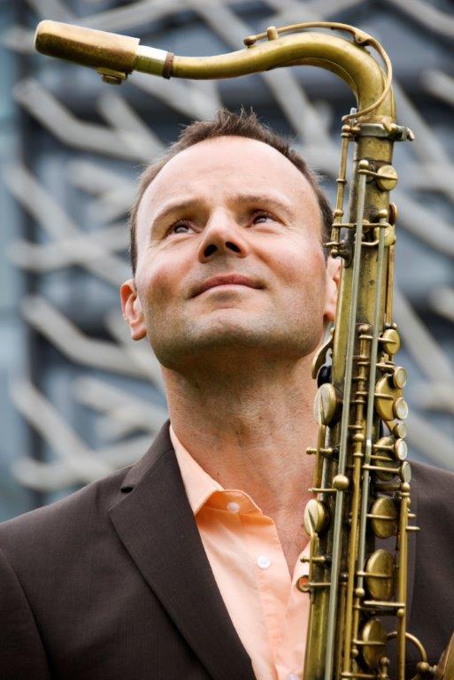 Willem Hellbreker saxofonist