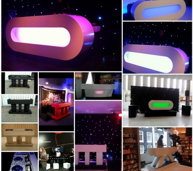 dj booths diverse soorten modellen en kleuren