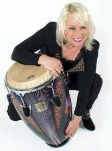Percussioniste Femke Krone